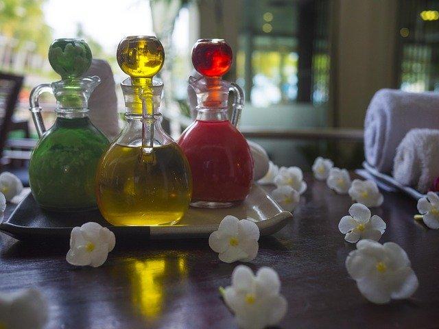 эфирное масло, спа, лечение, ароматерапия, основные, масло,