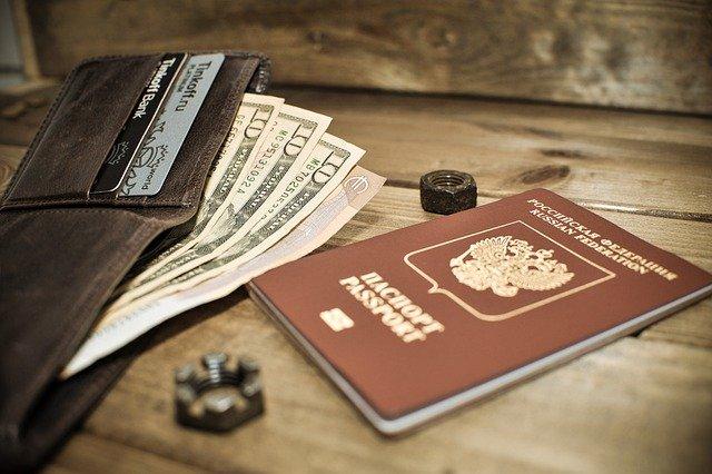 Паспорт, деньги