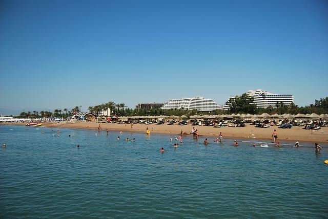 Белек, отдых в Турции, пляж, солнце