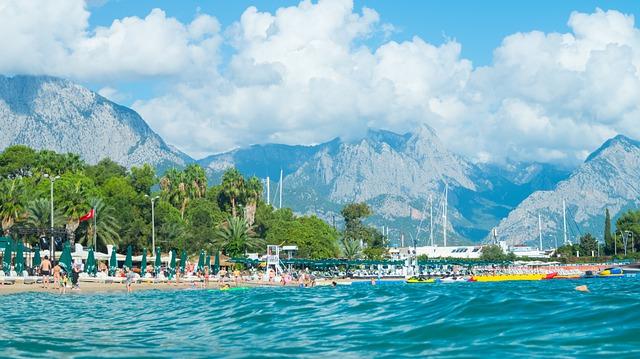 Кемер, отдых на море, горы, галечный пляж