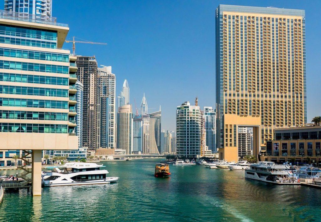 ОАЭ. Дубай, небоскребы, туризм