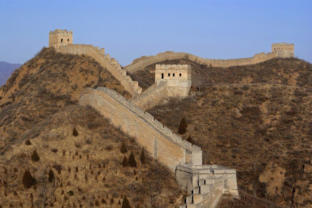 Великая Китайская стена, Китай, семь чудес света