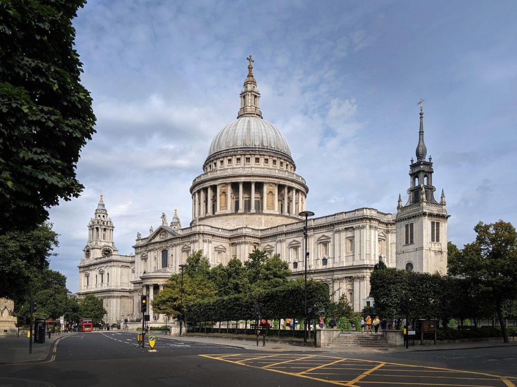 собор Святого Павла, Лондон, Англия, Великобритании ,церковь, архитектуры