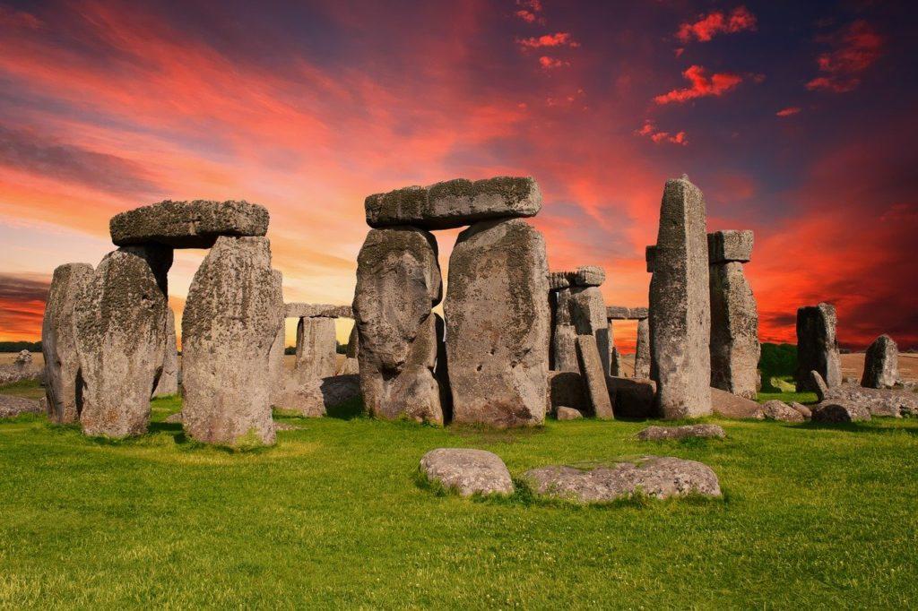 Стоунхендж, памятник, доисторическая, Солсбери, Британия, Великобритании,