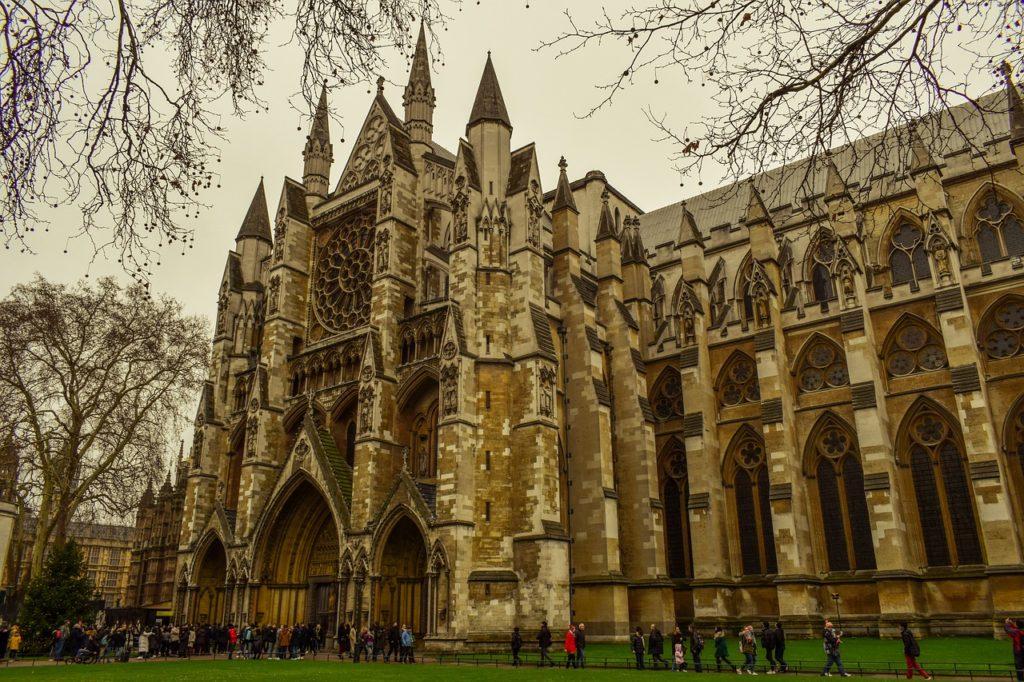 Вестминстерское аббатство, церковь, Вестминстер, здание, архитектуры, Великобритании