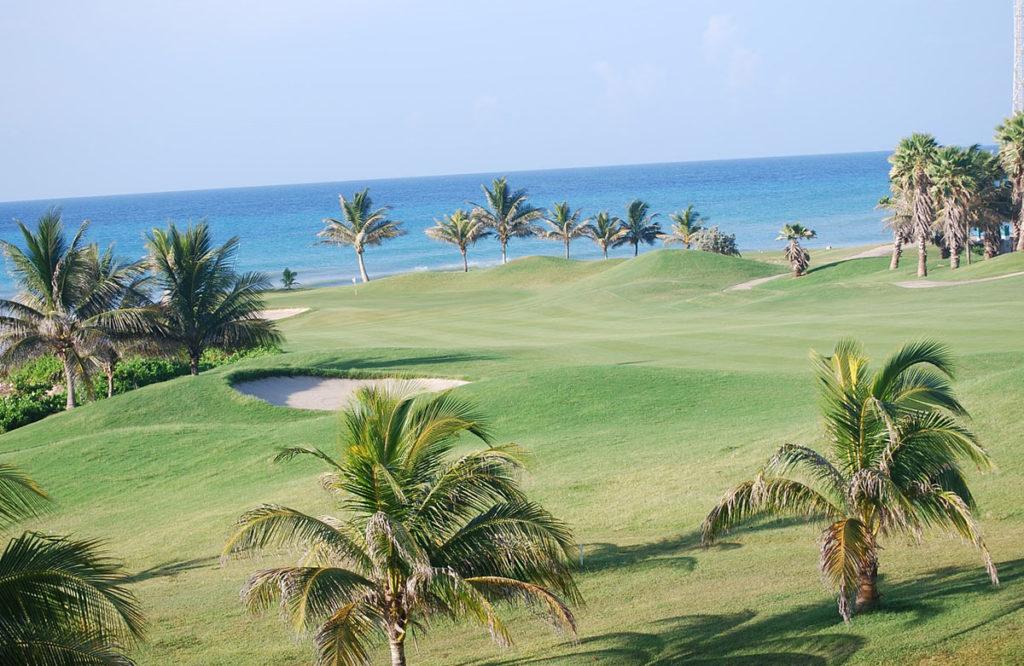 ямайка, курорт, гольф