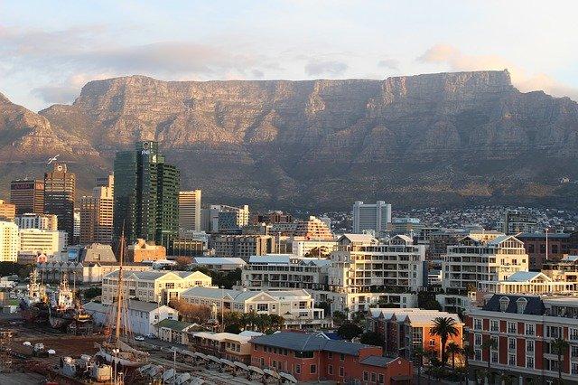 Кейптаун, столовая гора, Африка, путешествие